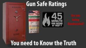 gun safe ratings