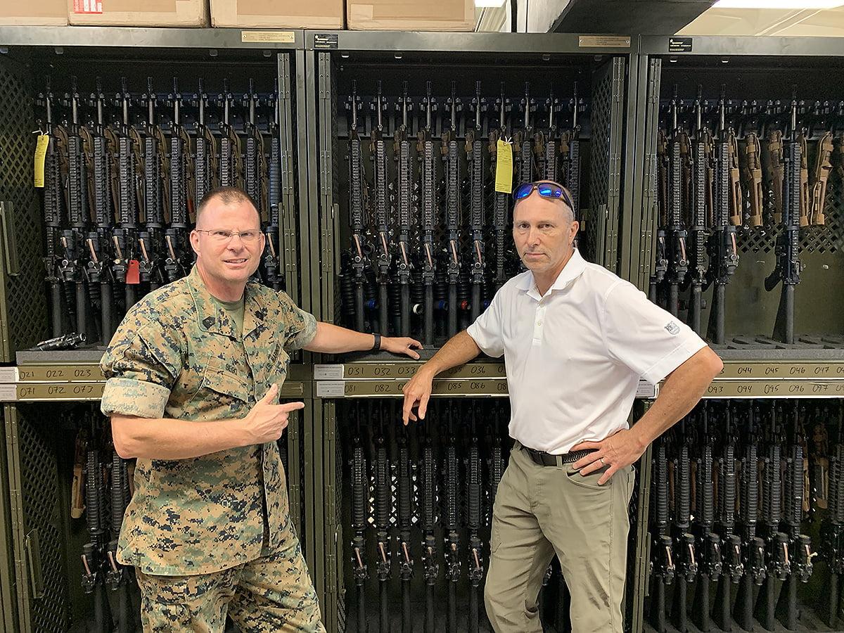 marine corps armory