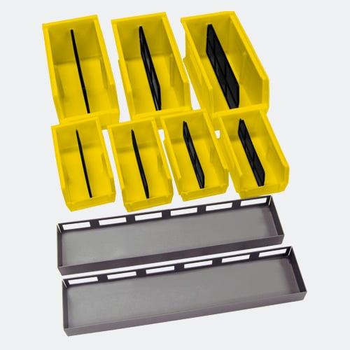 Gun Storage Bins