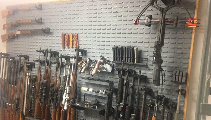 custom gun wall